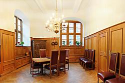 Dieses Bild zeigt das Trauzimmer im Historischen Rathaus©Hansestadt Stade